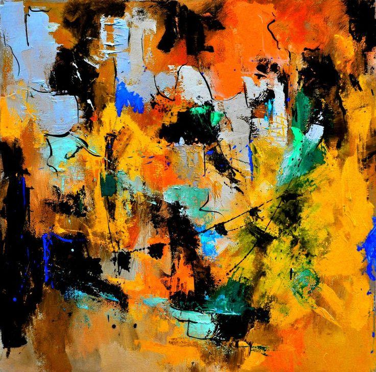 "Saatchi Online Artist: Pol Ledent; Oil, 2013, Painting ""abstract 66315002"""