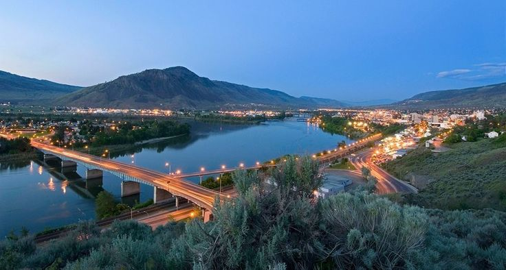 """""""Kamloops, British Columbia."""" 