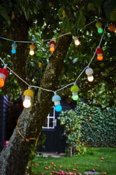 String of Lights suitable for Inside & Out - Multi Coloured