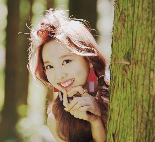 Bunny Nayeon look soO cute