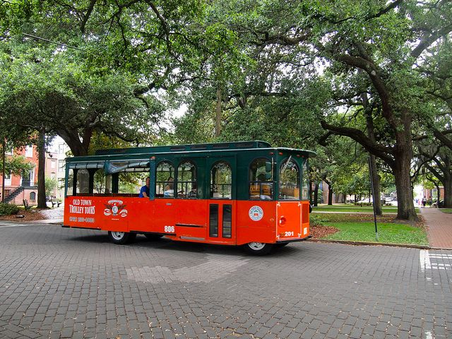 One of the best ways to experience Savannah's history is to take a tour. Hop-on-hop-off trolley tours are very popular here, as are carriage tours. And, at night, you definitely should sign up for a ghost tour. Whether you believe the spooky stories you'll hear or not, a ghost tour is a fun way to learn about Savannah's most well-known legends.