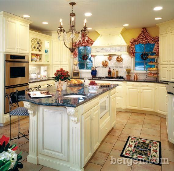 butter yellow kitchen walls | of Saddle Brook, this ...