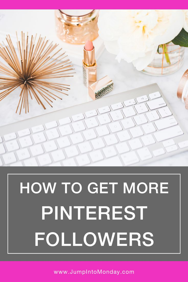 How To Get More Pinterest Followers. Great tips!