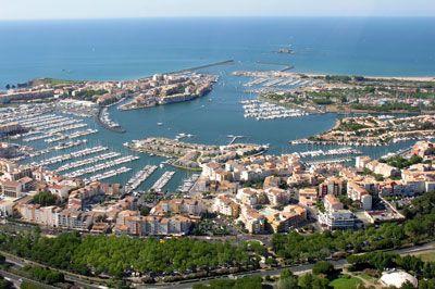 Cap d'Agde, Southern France