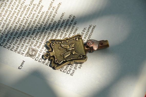 Butterfly Locket Key by GeekAtHeartShop on Etsy, $15.00