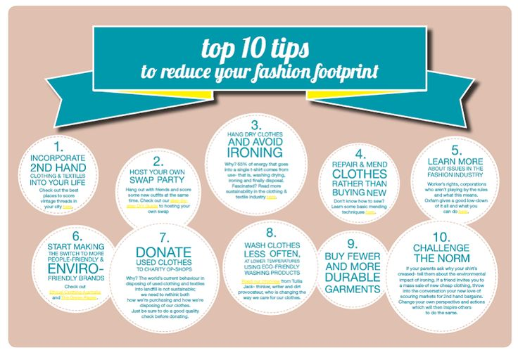 Sustainable Fashion - reducing your fashion footprint #sustainablefashion #fashionfootprint