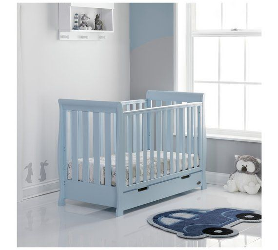 Buy Obaby Stamford Bonbon Mini Cot Bed at Argos.co.uk, visit Argos.co.uk to shop online for Cots, cribs and cot beds, Nursery furniture, Home and garden