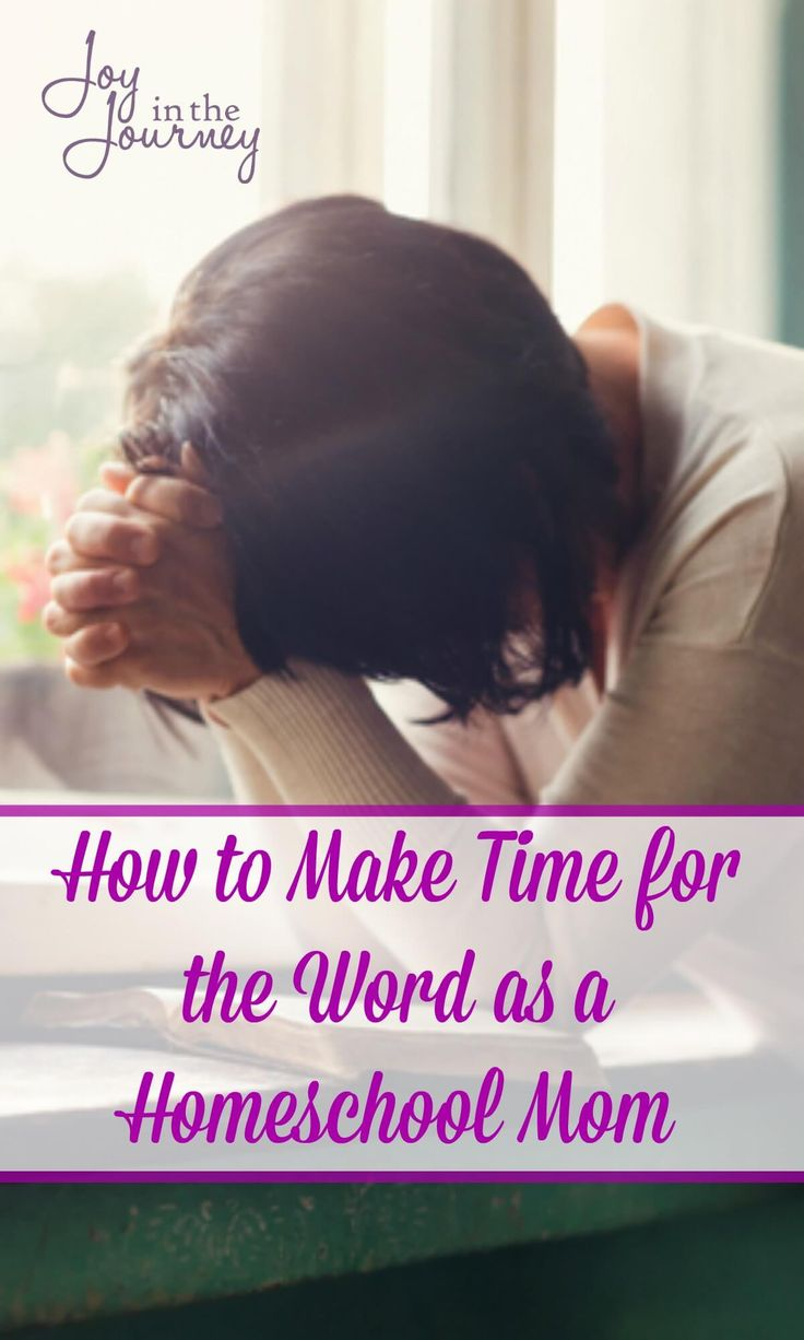 One thing that most homeschool moms can agree on is that we are busy. The end of the day comes and I'm tired. But, busy moms we can make time for the word!
