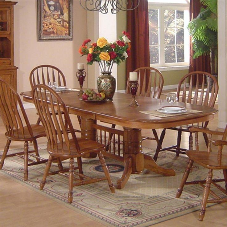Captivating Oak Dining Room Set