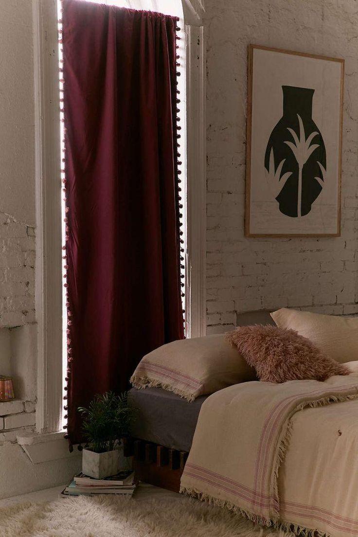Home decoration autrefois rideaux - Rideau Exotique Pour Un D Cor Boho Chic Ethnique Ou Naturel