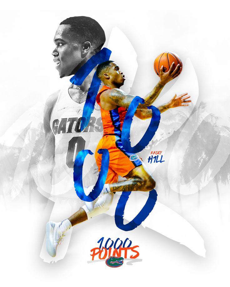 Florida Gators Basketball: Kasey Hill 1,000 Points on Behance