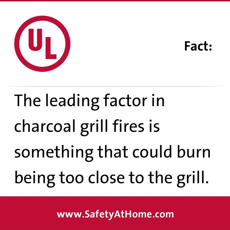 Learn more grilling safety information at www.SafetyAtHome.com