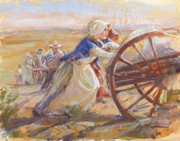 Amazing #LDS Pioneer stories you have to read to believe! http://lds.net/blog/faith/defending-the-faith/mormon-history/pioneer-stories-will-make-jaw-drop/