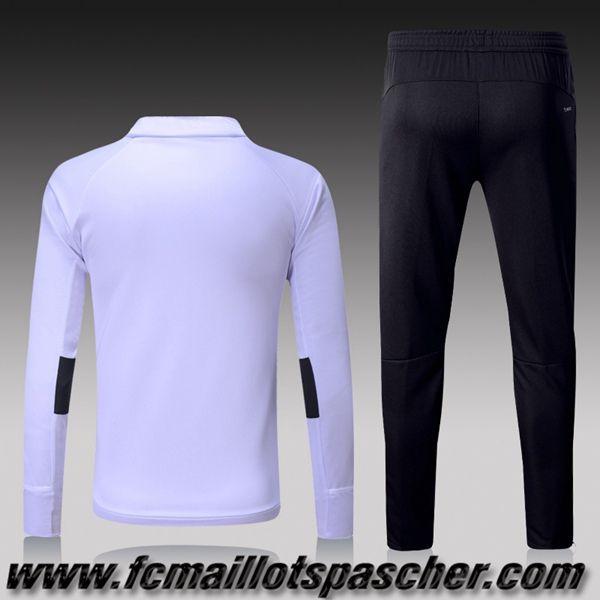 Veste survetement adidas blanche homme