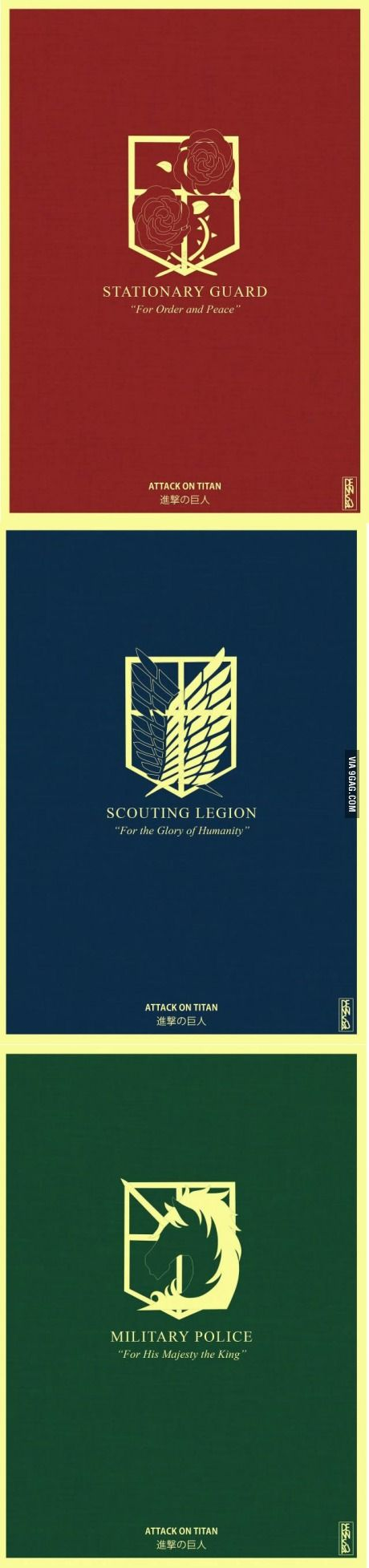 What would you choose? I would choose scouting legion for the glory of humanity