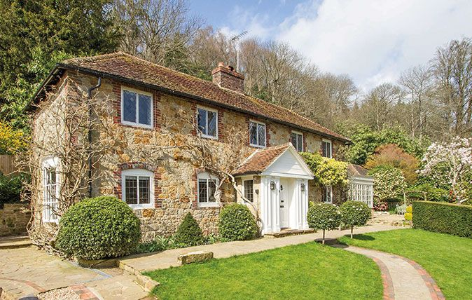 Country Life round up 5 of the most beautiful Grade II listed properties for sale.
