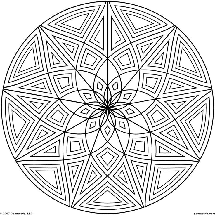 22 best Geometric designs to draw images on Pinterest