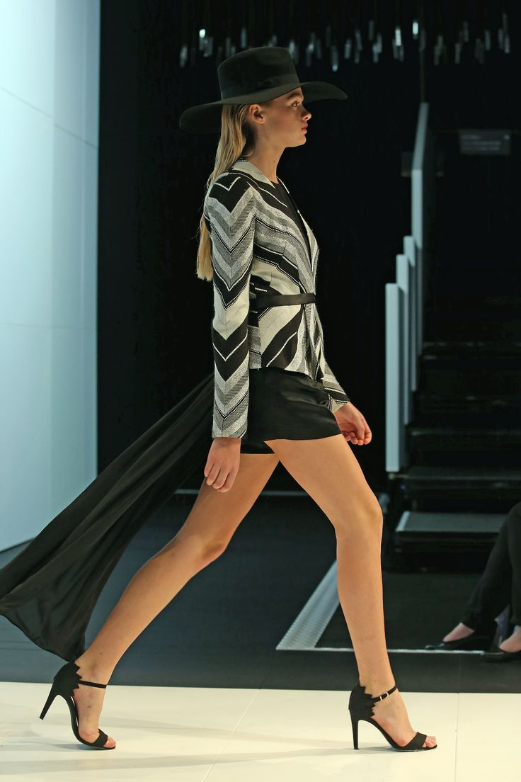 Win with Ziera! Win a trip for 2 to the Virgin Australia Melbourne Fashion Festival 2015, find out how to enter here http://zierashoes.com/page/Melbourne    Pictured: Thurley's design on the runway at the 2014 Melbourne Fashion Festival.  #Win #VAMFF