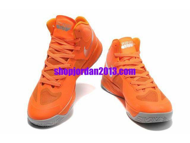 69050768571 Online Hot Nike Zoom Hyperfuse 2012 Cheap sale Orange Dark Red ...