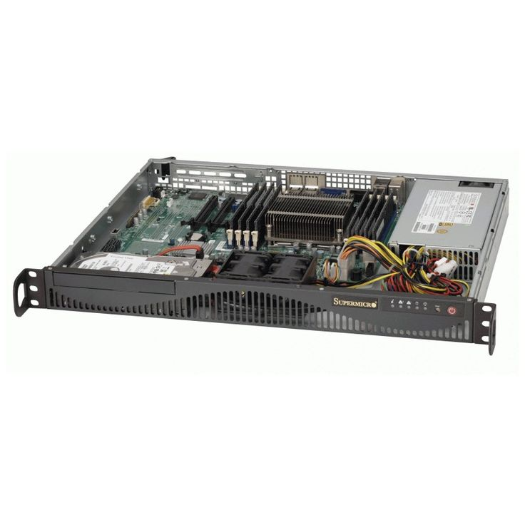 SM04-1/20-RACK(1U)-E31230V3/16GB/2BAY  • RackMount 1U Chassis 350W PSU • 2x 3.5″ SATA Fixed Internal Drive Bays • Intel Xeon E3-1230V3 3.3GHz Quad-Core 8MB 1150 • 16GB DDR3-1600 UDIMM • 2x WD 1TB Enterprise Drives (RAID 1 for OS) • Assembly & Testing Included (48Hrs)