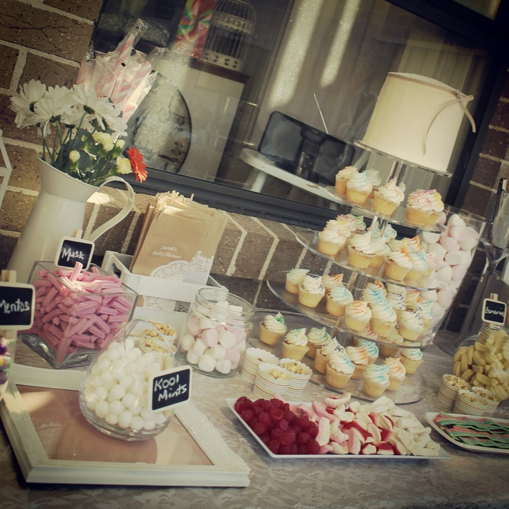 lolly buffet @ my baby shower