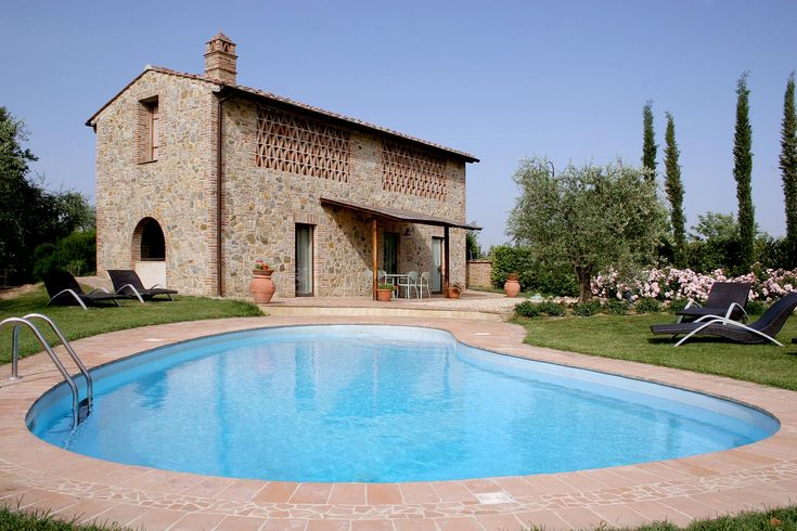 Vakantie in Villa Il Poggio in Gambassi Terme met zwembad tussen de olijfbomen in Florence , Toscane.