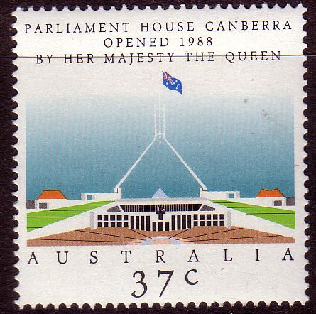 Australia 1988 New Parliament House Canberra Fine Used SG 1144 Scott 1081 Other Australian Stamps HERE