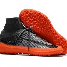 Baratos Botas De Futbol Nike MercurialX Proximo II CR7 TF Gris Hematita Gris lobo