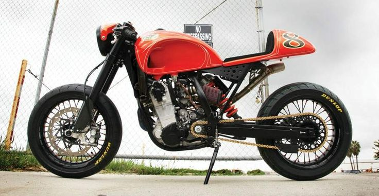 street fighter motorcycle with wire wheels | http://www.motorcyclespecs.co.za/Custom%20Bikes/RSD%20KTM%20525%20Cafe ...