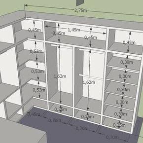Resultado de imagen para projetos de closet de gesso