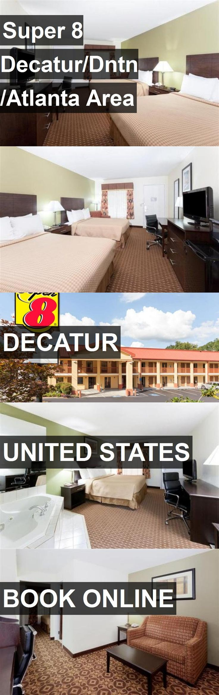 Hotel Super 8 Decatur/Dntn/Atlanta Area in Decatur, United States. For more information, photos, reviews and best prices please follow the link. #UnitedStates #Decatur #Super8Decatur/Dntn/AtlantaArea #hotel #travel #vacation