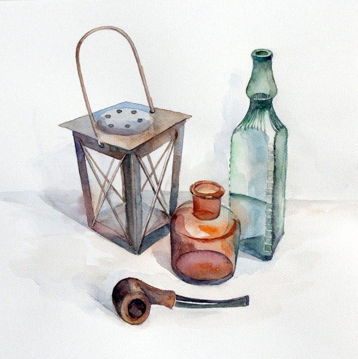 Bottles & pipe
