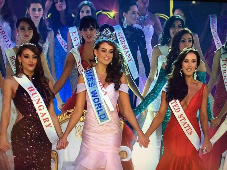 Rolene Strauss of South Africa Crowned Miss World 2014