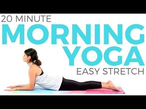 Enjoy this easy morning yoga stretch to improve your posture and boost positivit… – Morning Yoga Routine
