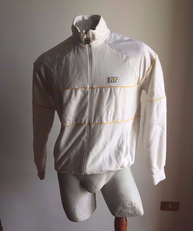 MAGLIA ENNERRE NR GABBER GIACCA JACKET TRACK TOP VINTAGE ITALY 80S
