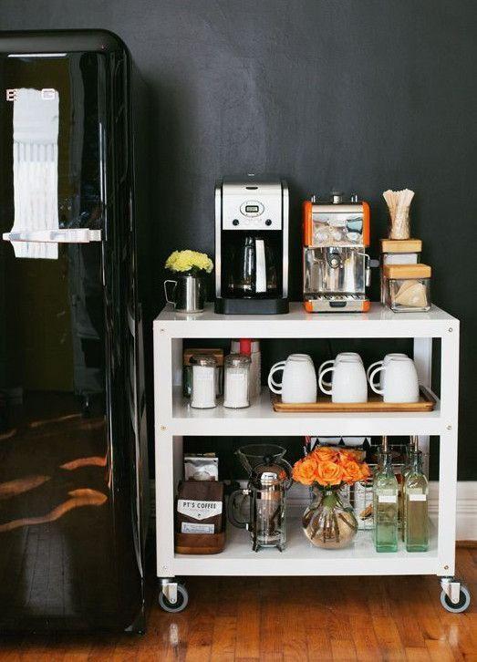 Luxury on a Budget: DIY Coffee Station   TipHero Money Saving Tips