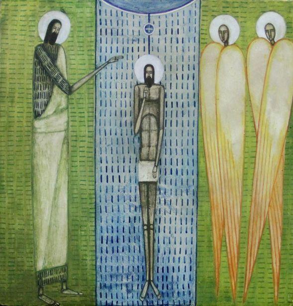 Artist:  Natalya Rusetska Collection - Iconart Contemporary Sacred Art Gallery, L'viv, Ukraine.