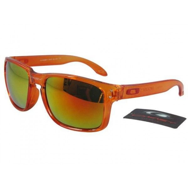 cheap oakley holbrook sunglasses  $12.99 replica oakley holbrook sunglasses pink orange iridium clear orange frames deals racal.
