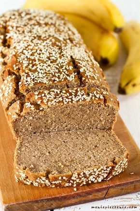 maniapieczenia: Chlebek bananowy (bez glutenu, jajek, cukru i laktozy)