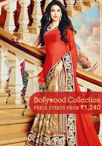 Trendsetting #Bollywood‬ suits and sarees up for grabs at rock-bottom prices. Starting from INR 1240 only.