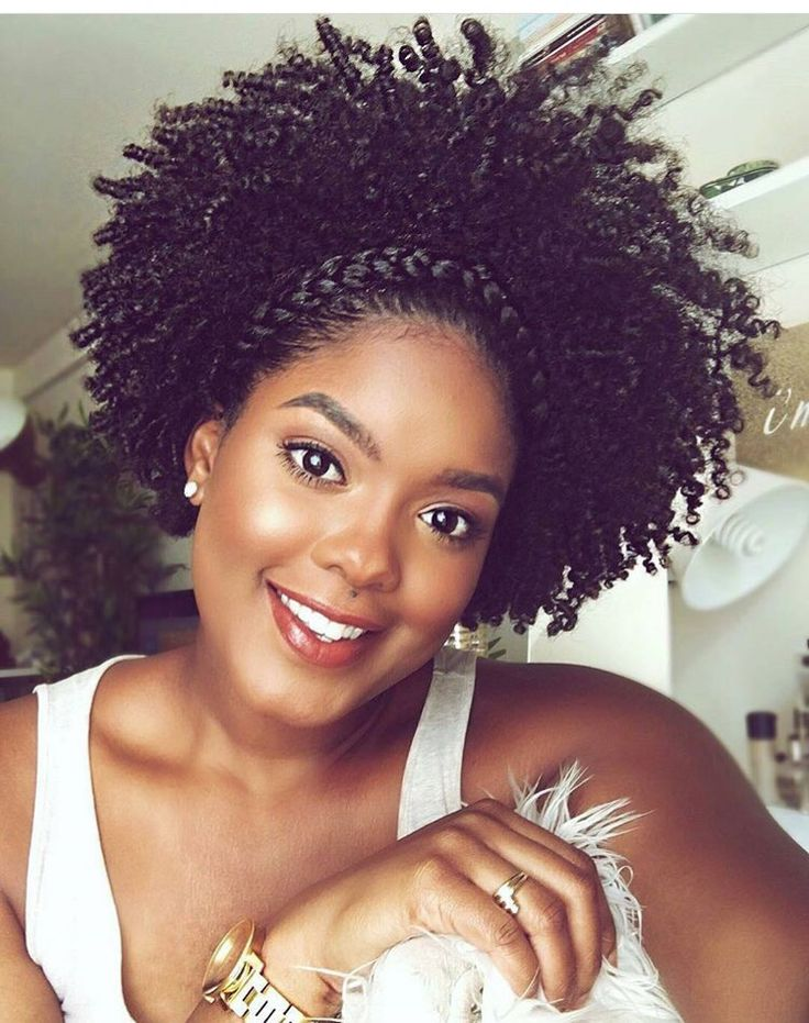 how to go natural with short hair