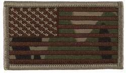 US Flag Desert Multi Cam (With Velcro)