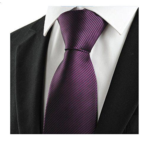 MENDENG New Men's Purple Red Striped Silk Ties Jacquard W... https://www.amazon.co.uk/dp/B01442SWUO/ref=cm_sw_r_pi_dp_x_VT95xb8C4CDRT