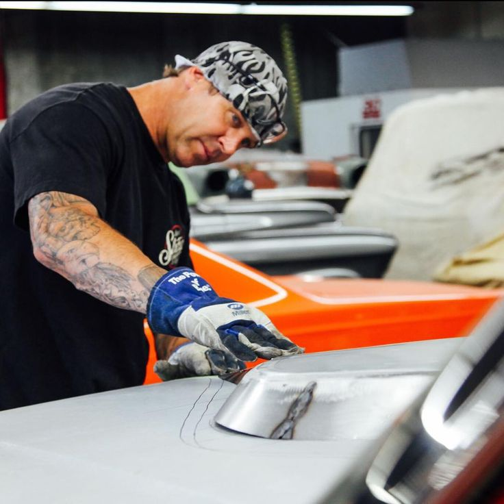 #BodieStroud taking time Monday  to Fit up the New #Hood Scoop on the #Galaxie before #Welding it on! www.BodieStroud.com 2015  #fordgalaxie #sohc #cammer @miller_welders #madeinamerica #madeinusa #xl500 #bodiestroud #bsi #bsindustries #musclecar #metalshaping
