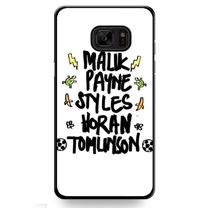 One Directin Names TATUM-8189 Samsung Phonecase Cover For Samsung Galaxy Note 7