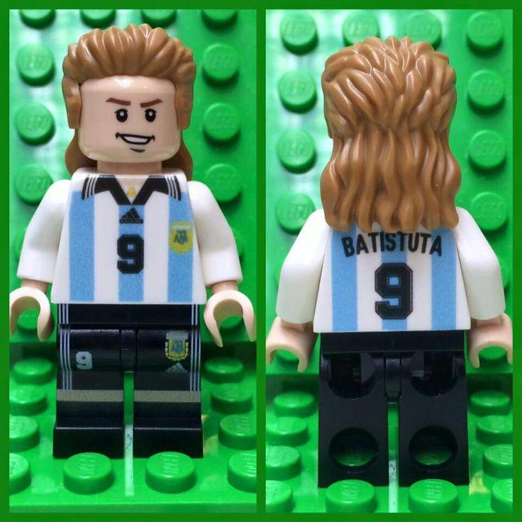 Batistuta Lego Custom Minifigure
