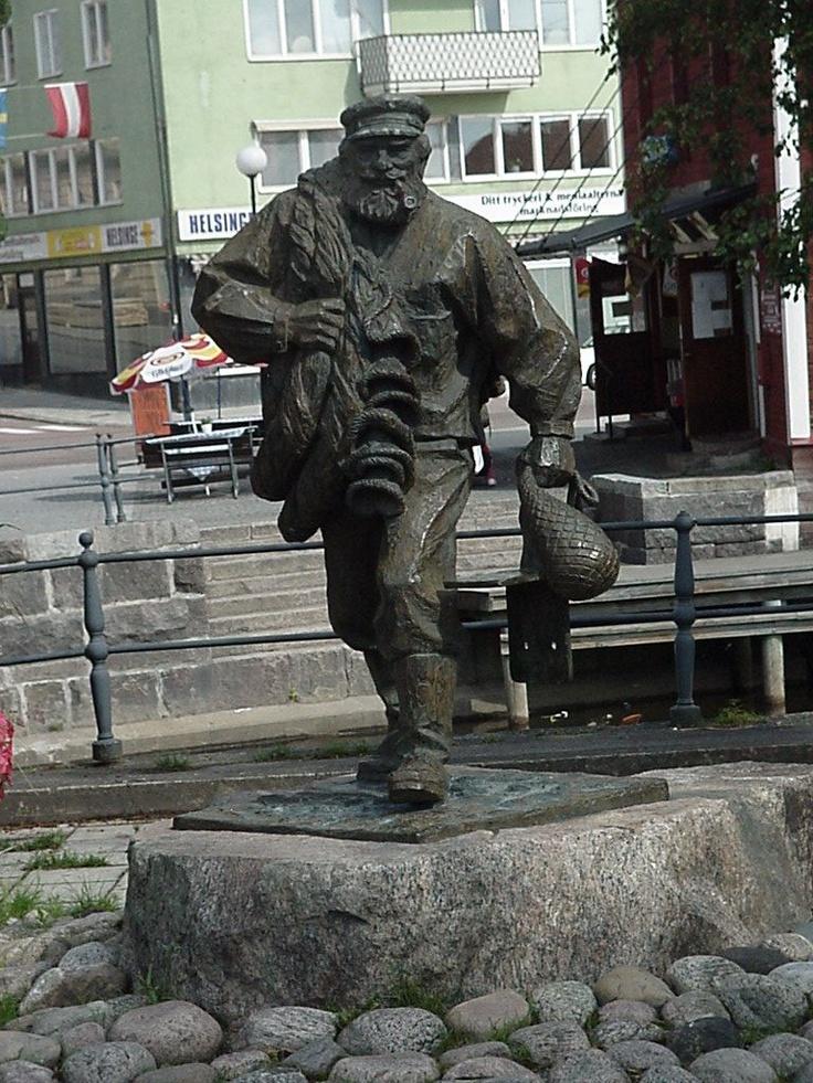 The fisherman in Hudiksvall