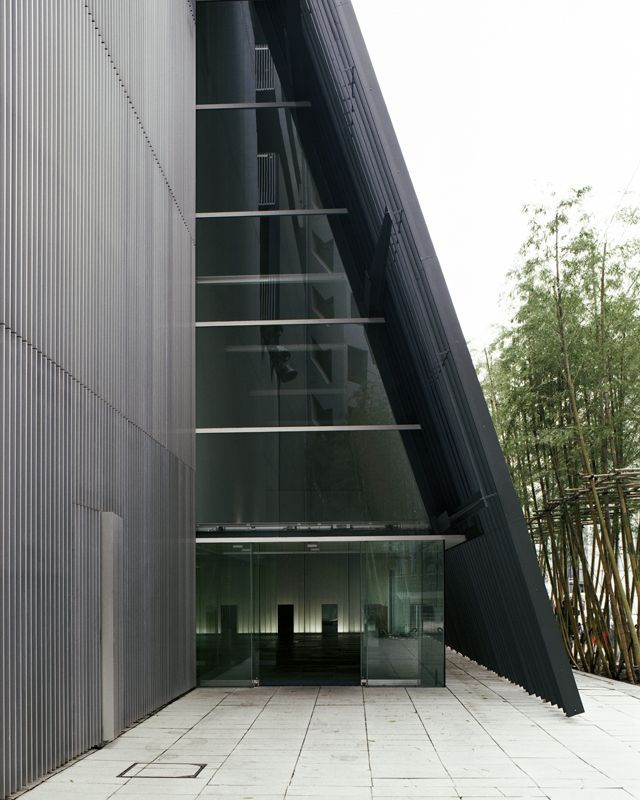 Baisoin temple and apartments, Tokyo, Japan by Kengo Kuma Architects #architecture