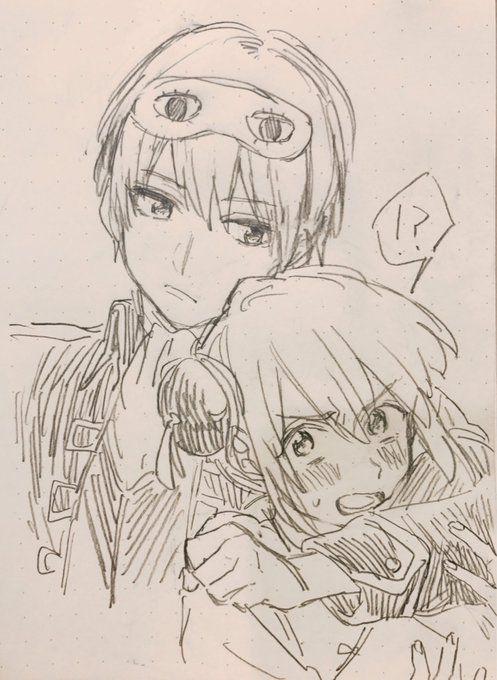 Okita and Kagura | Gintama