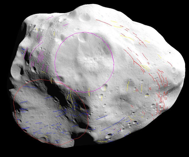 Rosetta Spacecraft Reveals Hidden Crater on Asteroid Lutetia 10/8/14 Asteroid Lutetia
